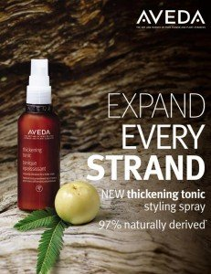 Aveda thickening lotion