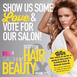 Scottish Hair and Beauty Awards 2015 westend