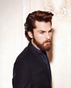 Slick Back and Beard