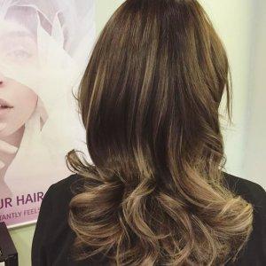 Balayage Hair Colour At Westend Hair Salon In Glasgow