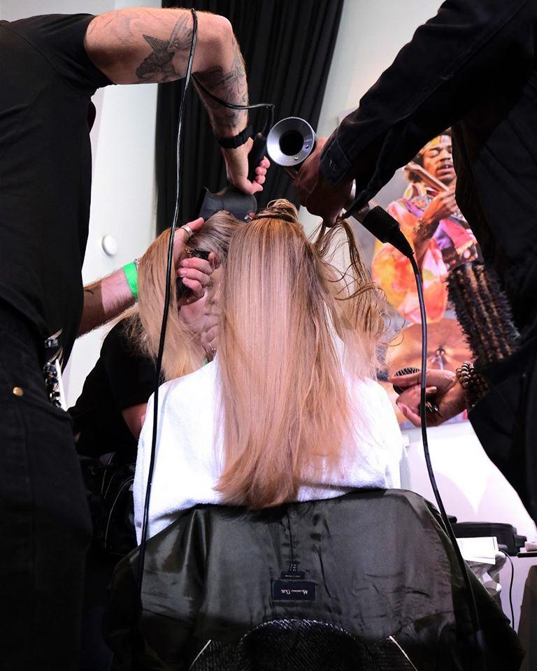 Blowdry at Westend Hair Salon Glasgow