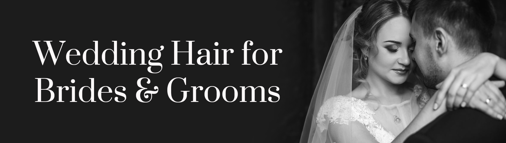 Wedding Hair for Brides Grooms BANNER
