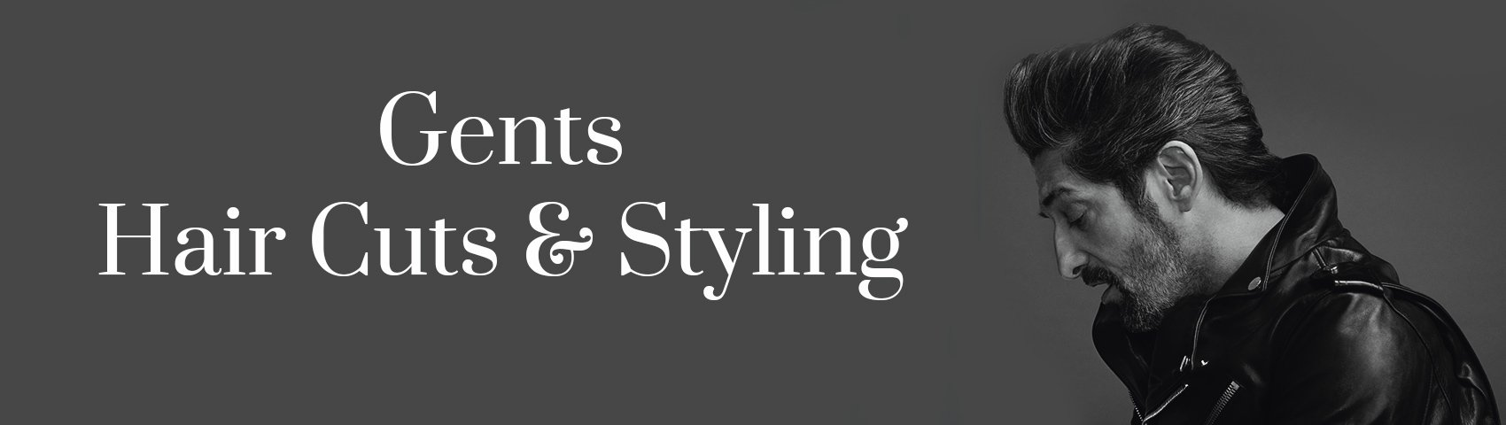 Gents Hair Cuts Styling BANNER