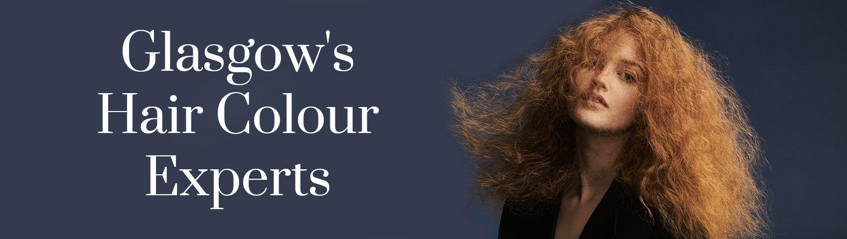 Glasgows Hair Colour Experts BANNER