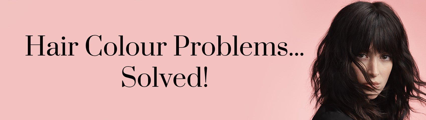 Hair Colour Problems..