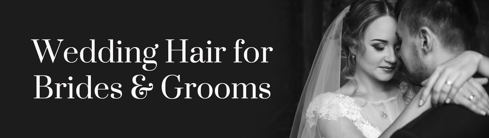 Wedding Hair for Brides Grooms BANNER