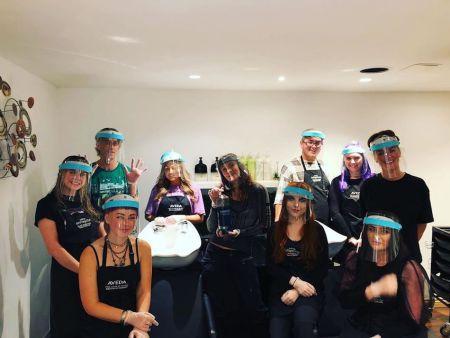 Team Pic WESTEND Hair Salon Glasgow